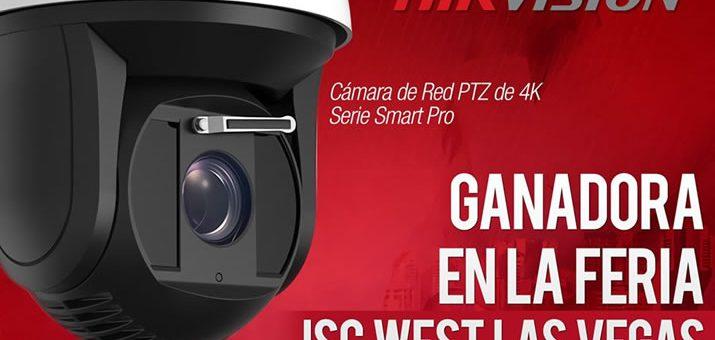 Cámara PTZ Ultra HD con Smart IR es galardonada con el premio New Product Showcase en Las Vegas